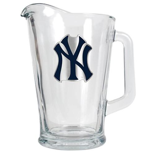 York Yankees Glass Pitcher