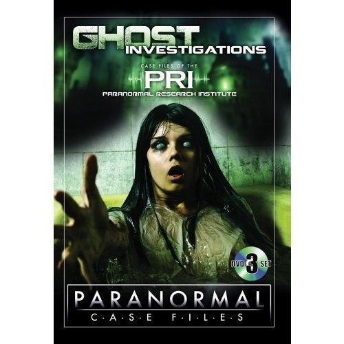 Paranormal Case Files: Ghost Investigations [3 Discs] [DVD]