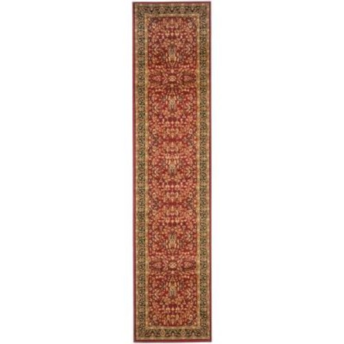 Safavieh Lyndhurst Red/Black 2 ft. 3 in. x 22 ft. Runner