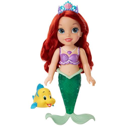 Disney Princess The Little Mermaid Colors of the Sea Ariel Bath Doll