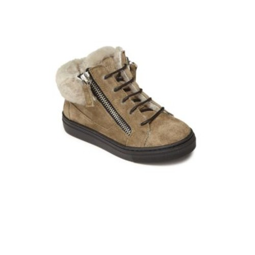 Baby's, Toddler's & Kid's Suede & Shearling Sneakers