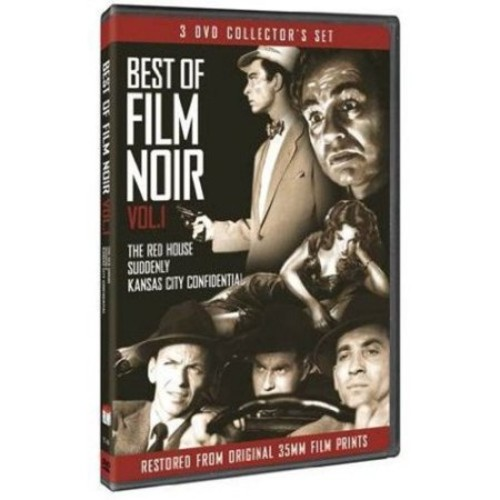 The Best Of Film Noir, Vol. 1: The Red House / Suddenly / Kansas City Confidential