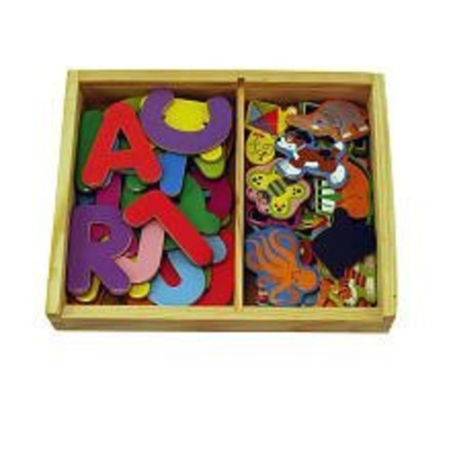 ABC Magnet Set: Letter-and- Picture Pairs