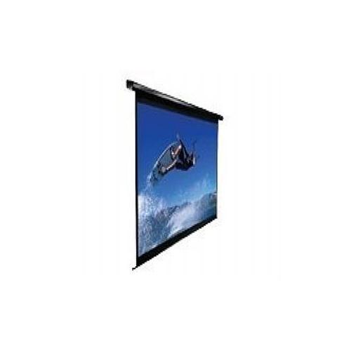 Elite Screens VMAX2 Series VMAX84UWH2-E30 - Projection screen - motorized - 84 in ( 213 cm ) - 16:9 - MaxWhite - black