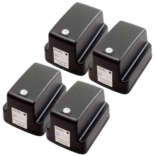 Sophia Global Remanufactured Ink Cartridge Replacement for HP 02XL