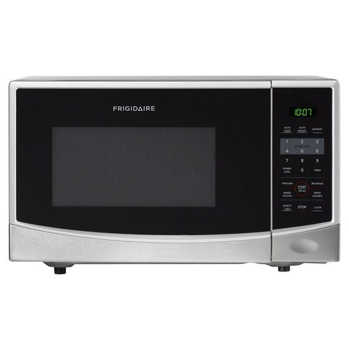 Frigidaire - 0.9 Cu. Ft. Compact Microwave - Stainless steel