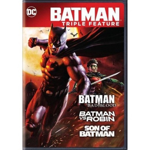 Batman:Bad Blood Triple Feature (DVD)