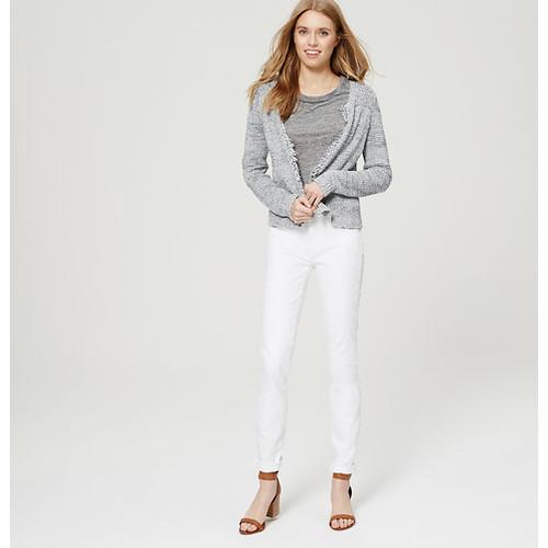 Petite Modern Skinny Jeans in White