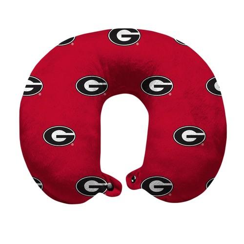 Georgia Bulldogs Travel Pillow