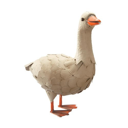 National Tree Company 16 in. Metal Goose