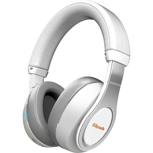 Klipsch - Reference Wireless Over-the-Ear Headphones - White