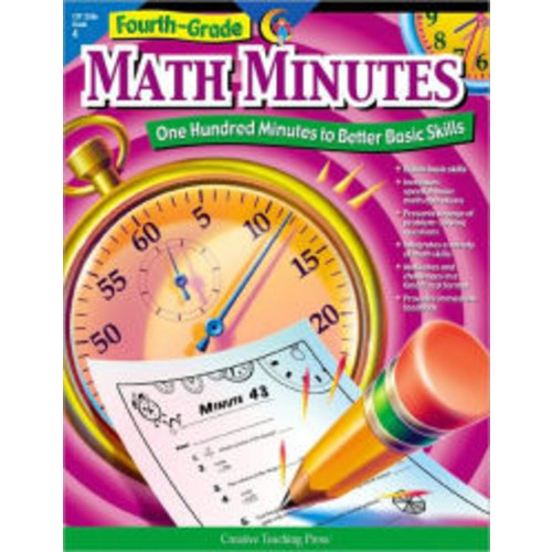 Fourth-Grade Math Minutes: One Hundred Minutes to Better Basic Skills