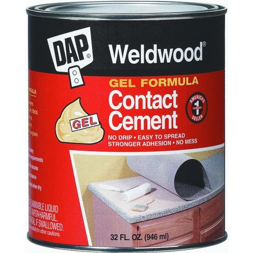 DAP Weldwood Gel Formula Contact Cement - 25316