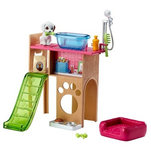 Barbie Pet Room and Accessories Playset