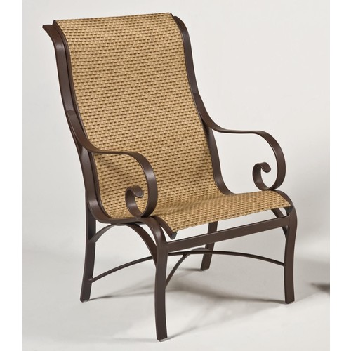 Woodard Wingate sling Dining chair