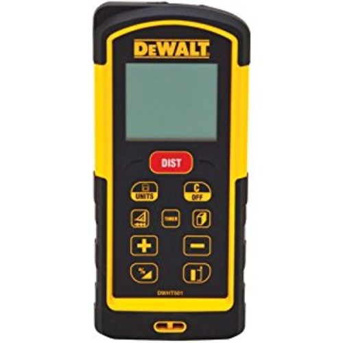 DEWALT DW03101 330-Feet Laser Distance Measurer [330-Foot Range, Laser Distance Measurer]