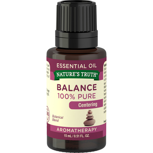 Nature's Truth Aromatherapy Balance Essential Oil Blend, 0.51 Fl Oz