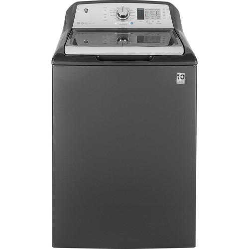 GE 4.6 cu. ft. High-Efficiency Top Load Washer in Diamond Gray, ENERGY STAR