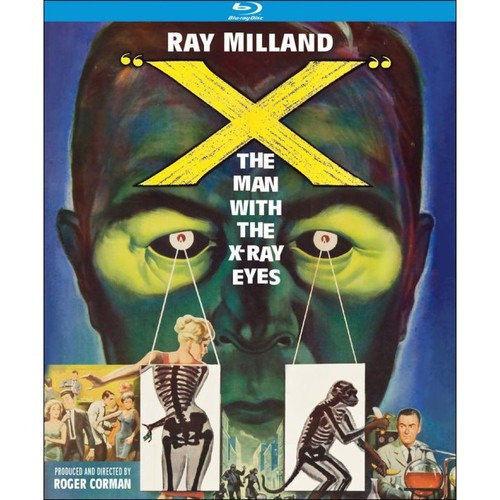 X: The Man with X-Ray Eyes [Blu-ray] [1963]