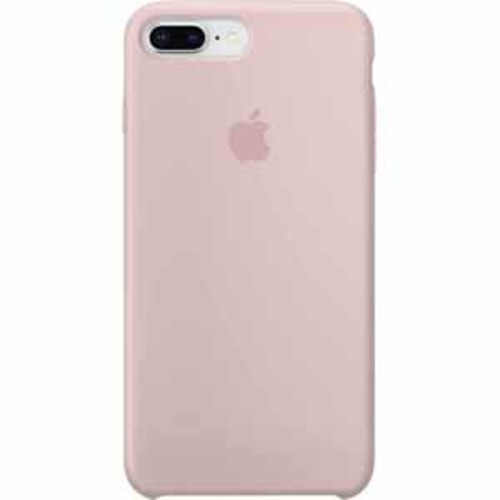 Apple Silicone Case for iPhone 8 Plus/7 Plus - Pink Sand