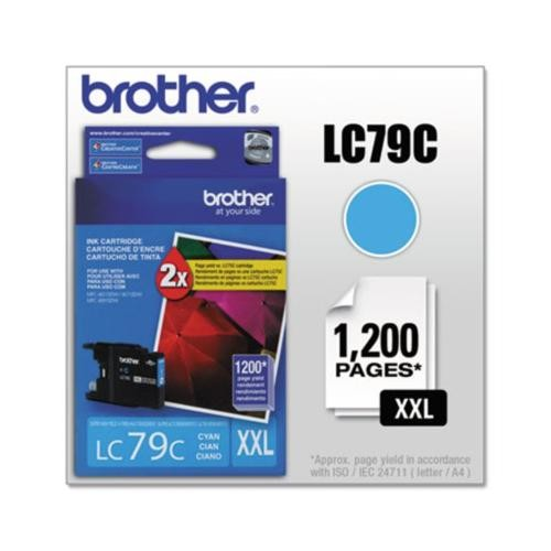 Brother LC79C LC-79C Innobella Super High-Yield Ink BRTLC79C