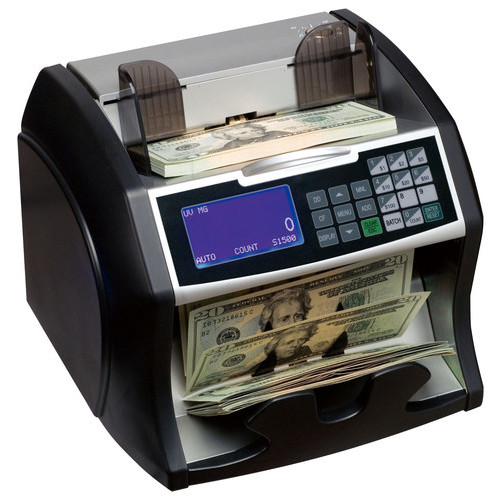 Royal Sovereign - Electric Bill Counter - Black/Silver