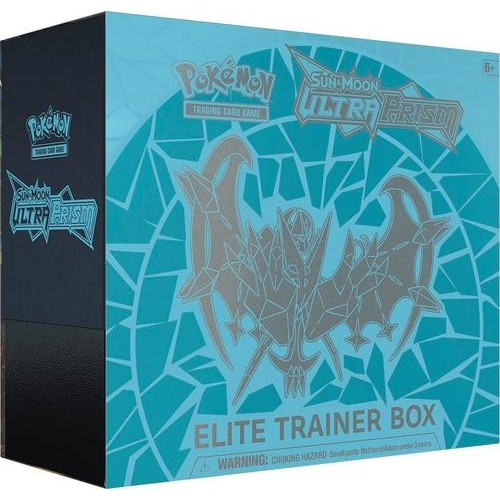 Pokmon - Sun & Moon - Ultra Prism Elite Trainer Box Trading Cards - Styles May Vary