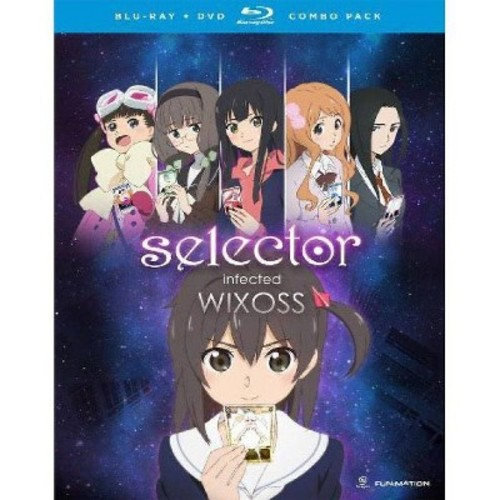 Selector Infected Wixoss: Complete Series [Blu-ray] [4 Discs]