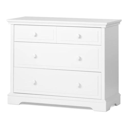 Child Craft 3-Drawer Universal Dresser in Matte White