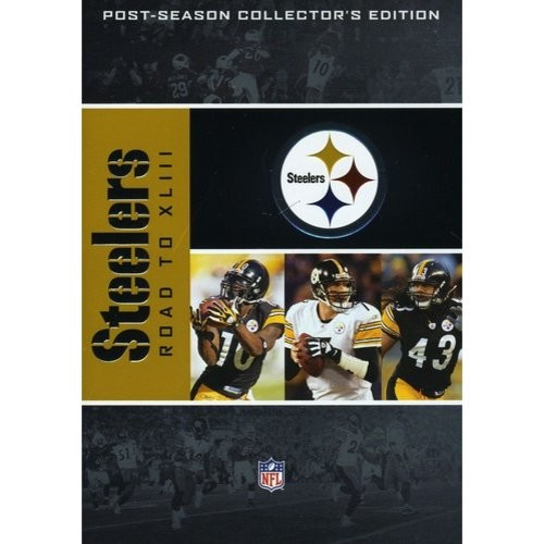 NFL: Pittsburgh Steelers - Road to XLIII [4 Discs] [DVD] [English] [2009]