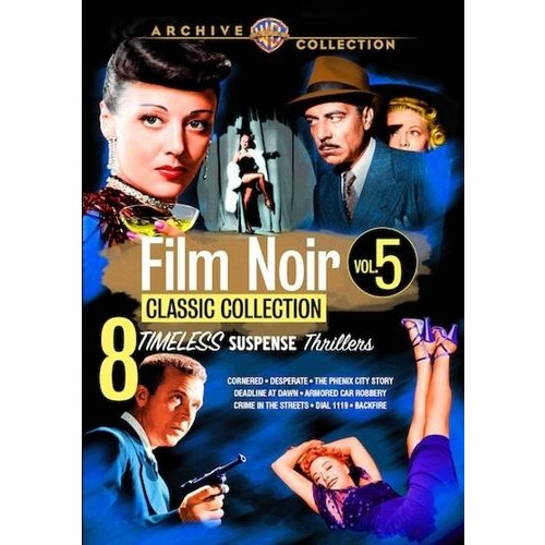 Film Noir Classic Collection: Volume Five [4 Discs] [DVD]
