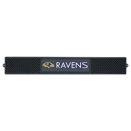 FANMATS NFL Baltimore Ravens Vinyl Drink Mat