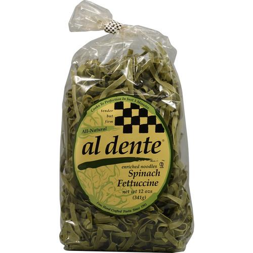 Al Dente Spinach Fettuccine Pasta Noodles -- 12 oz