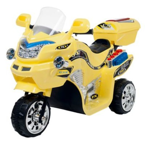 Lil' Rider 3 Wheel Battery Powered FX Sport Bike, Assorted Colors