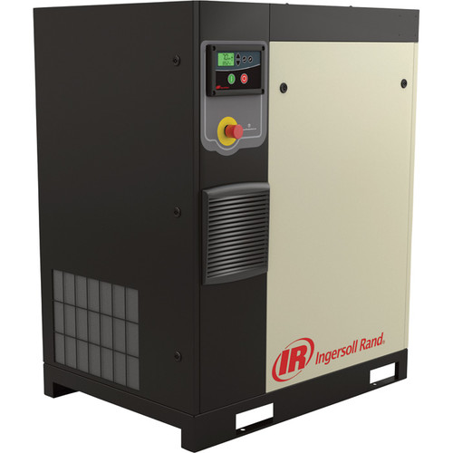 Ingersoll Rand Rotary Screw Compressor  Total Air System, 10 HP, 230 Volt/3-Phase, 36.7 CFM @ 115 PSI, 80-Gallon Tank, Model# 48670780