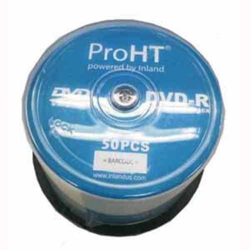 Pro-HT DVD-R 4.7GB 120 MIN/16X - 50 Pack