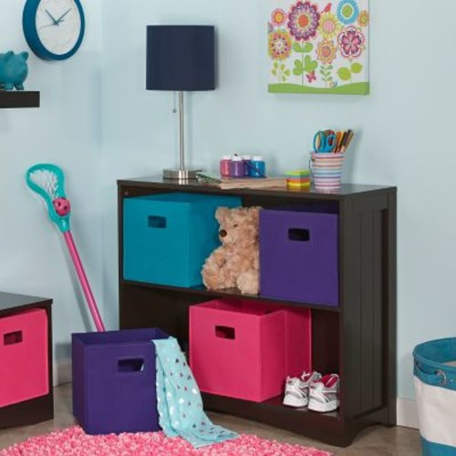 RiverRidge Kids Folding Storage Bin with Print for Supplies