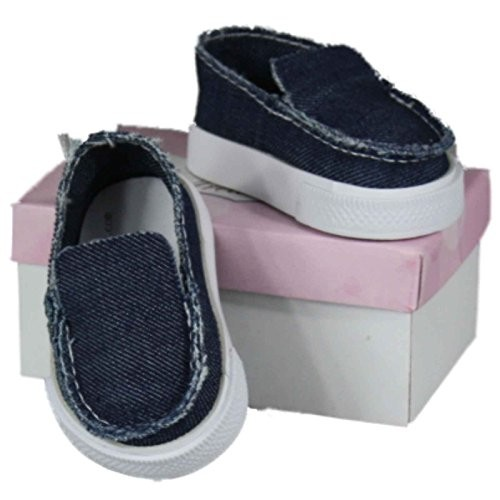 Casual Blue Canvas Slip-on 18