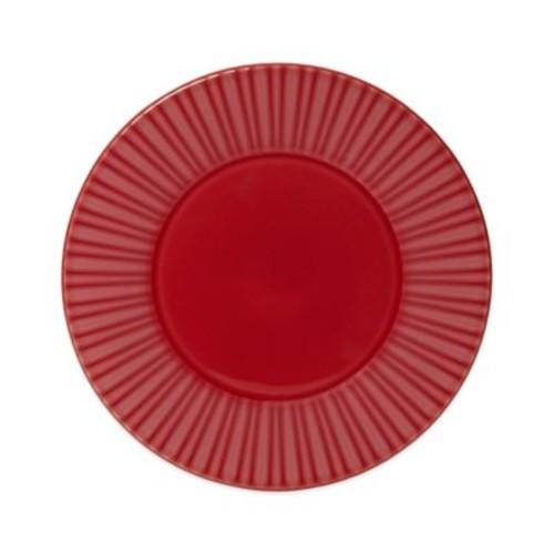 Mikasa Sutton Round Platter in Crimson