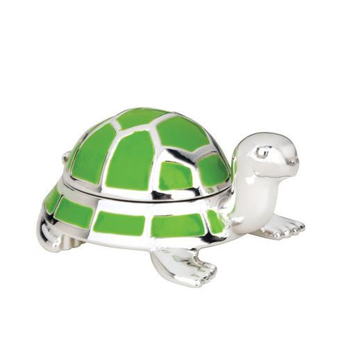 Reed & Barton Jungle Parade Turtle Tooth Fairy Box - Jungle