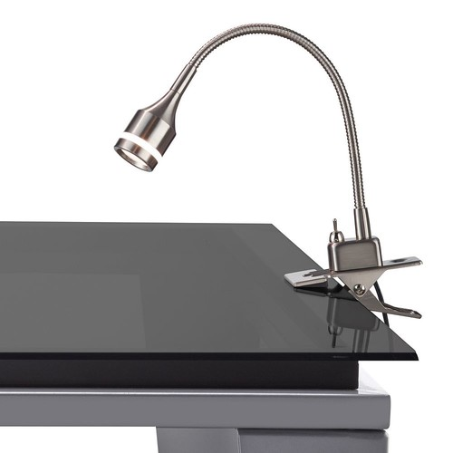 Adesso 14.5 in. Steel Prospect LED Clip Lamp