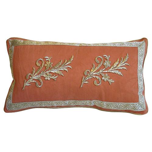 Ottoman Era Appliqu Pillow
