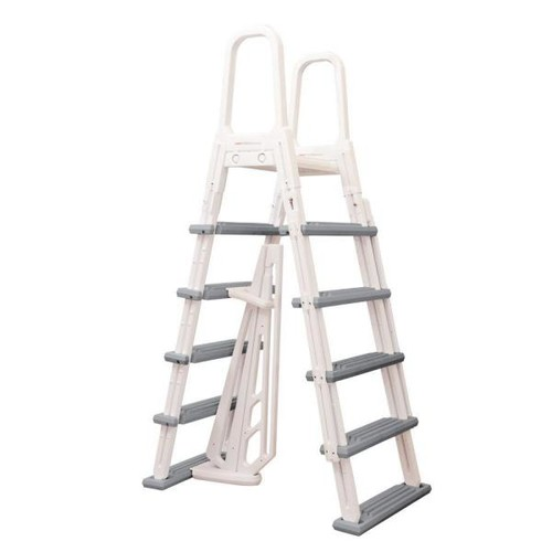 Blue Wave Heavy Duty A-Frame Ladder for Above Ground Pools