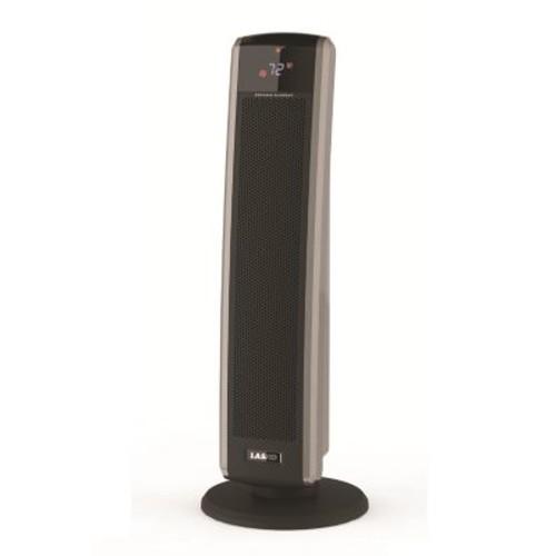 Lasko 1,500 Watt Portable Electric Fan Tower Heater w/ Logic Center Remote Control