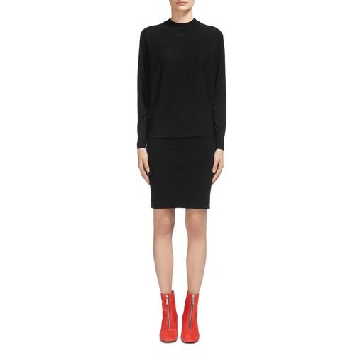 WHISTLES Drop-Waist Sweater Dress