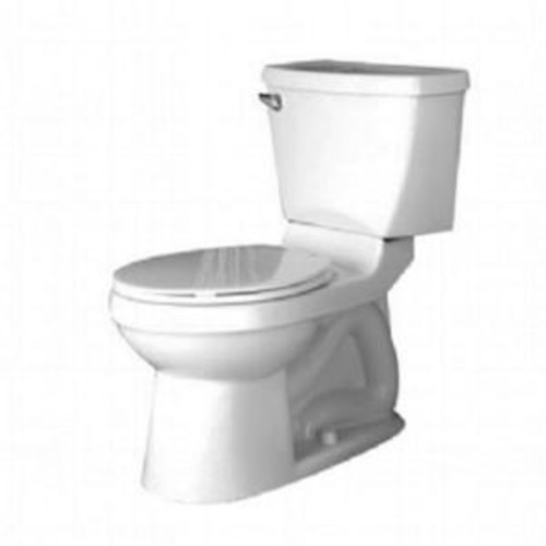 American Standard Champion 4 Chair Height 2-Piece 1.6 GPF Single Flush Elongated Toilet in White
