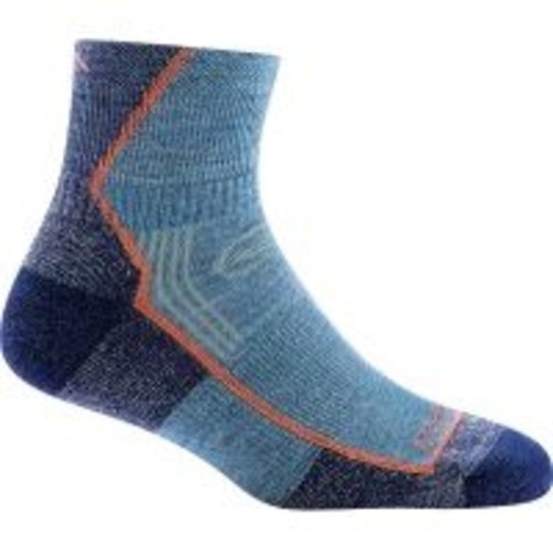 Darn Tough Hike/Trek 1/4 Cushion Sock - Women's [Womens Clothing Size : Large]