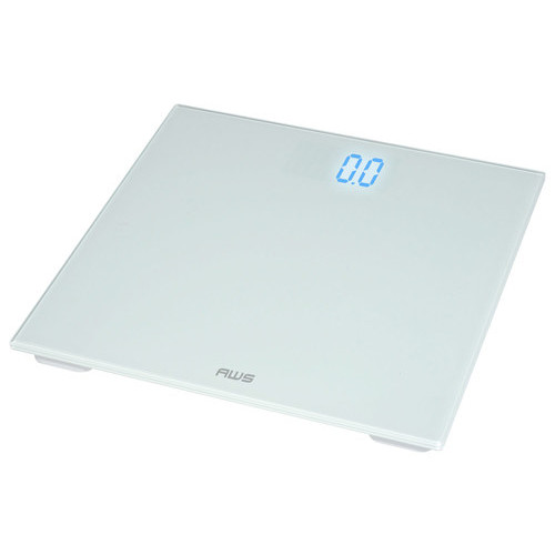 American Weigh Scales Digital Personal Bathroom Glass Scale