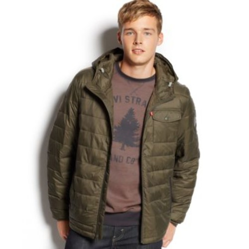 Levi's Puffy Hooded Jacket