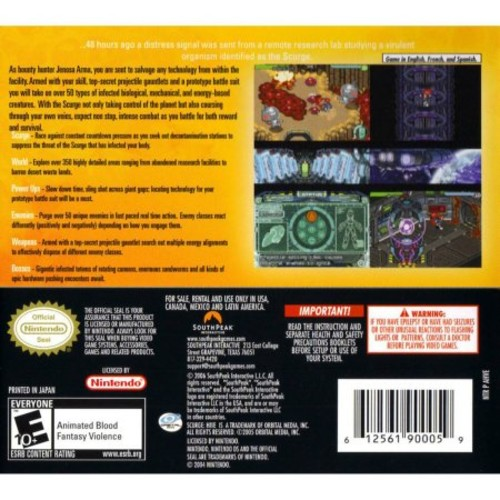 Scurge Hive - Nintendo DS